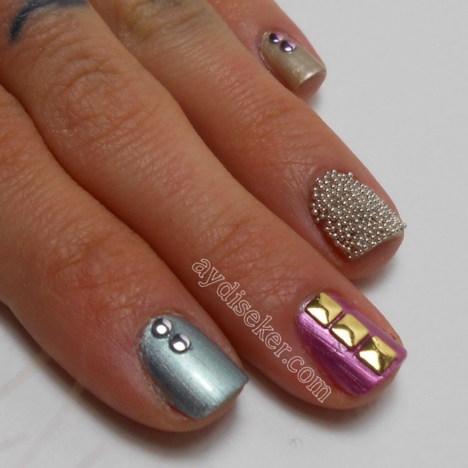 Essence You Rock Nail Art Stickers, Essence 3D Caviar Beads