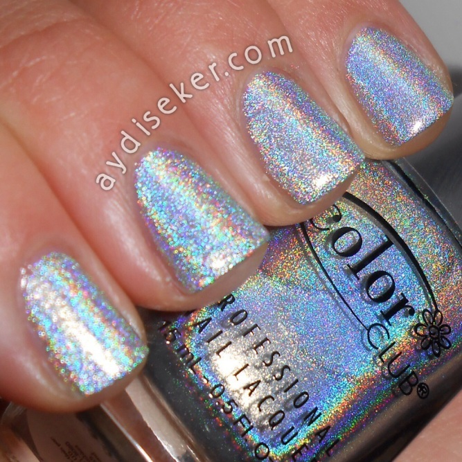 color club, holografik oje, harp on it