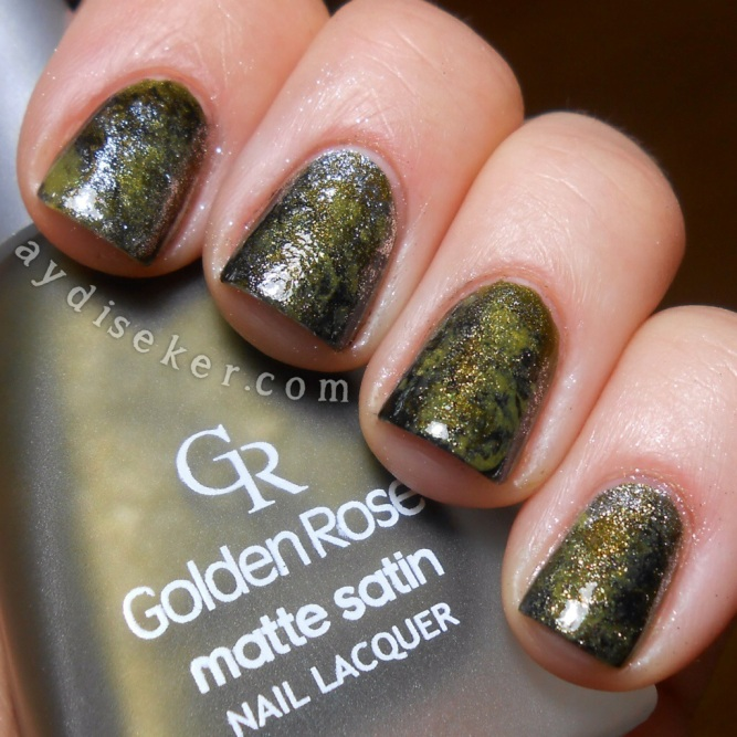 Golden Rose Matte Satin 207