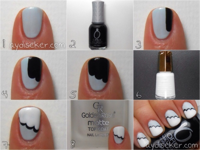 Rimmel London Sweet As Sugar açık mavi oje, bebek mavisi oje rengi, cloud mani, nail art pictorial, orly liquid vinyl, mavala 49 white