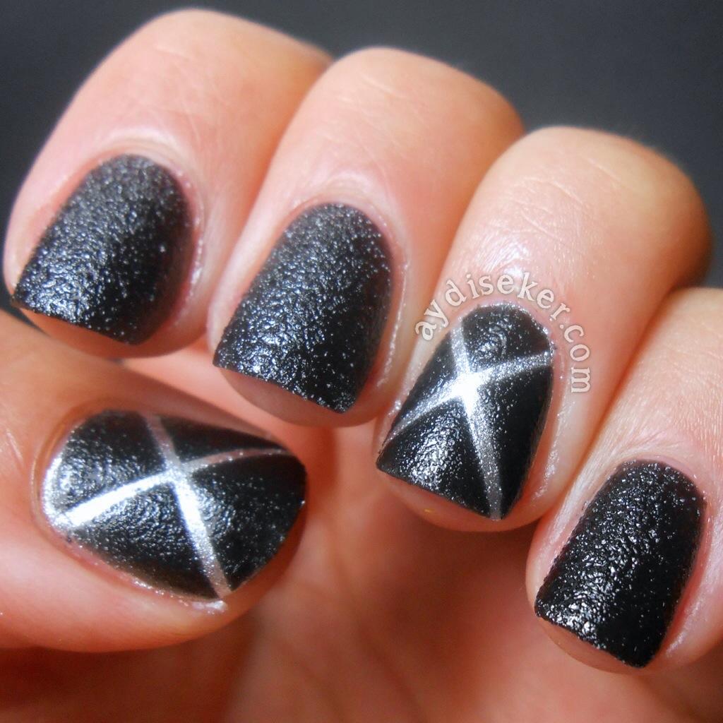 X Men Nail Art Aydinin Eker Ojeleri
